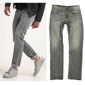 J Brand • Kane Slim Straight Jeans in Wildcat
